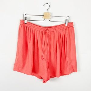J. Crew Mercantile Coral Pull-on Shorts